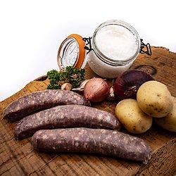 Saucisses de Toulouse par 4 (environ 500g)