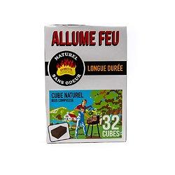Allume-feu naturel (32 cubes)