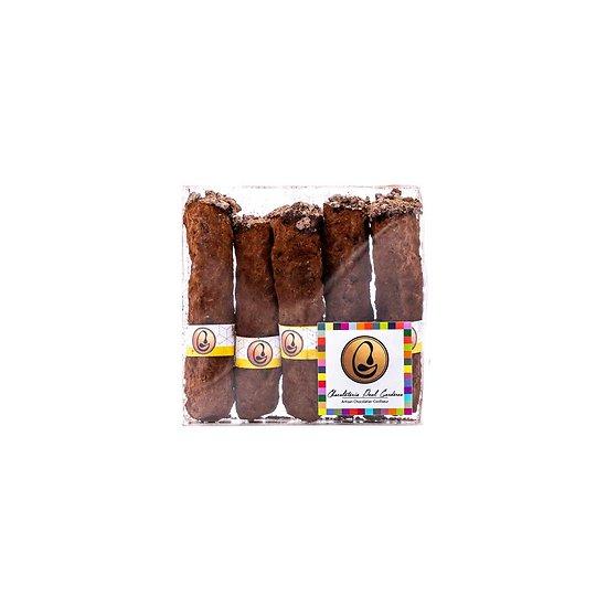 Cigares chocolat/whisky par 5