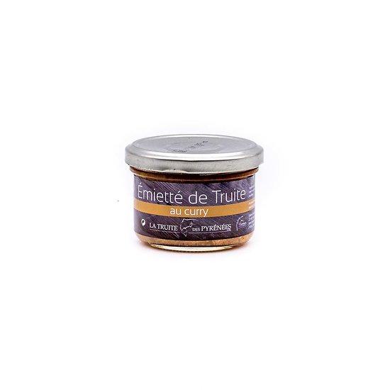 Emietté de truite au curry 90g