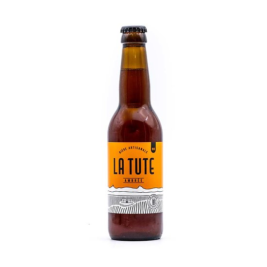 """Bière """"La Tute"""" ambrée BIO 33cl"""