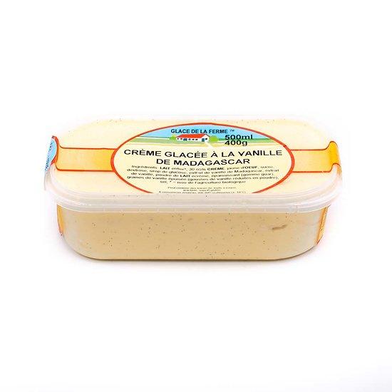 Crème glacée vanille 500ml