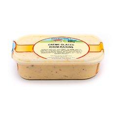 Crème glacée rhum-raisins 500ml