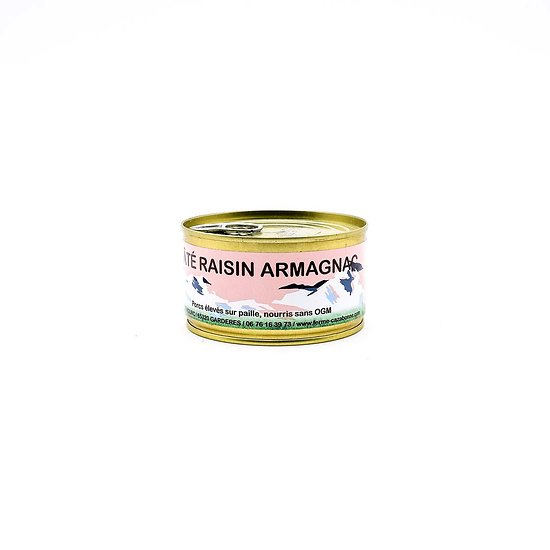Pâté raisins/Armagnac 180g