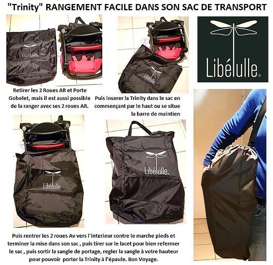 Trinity SAC DE TRANSPORT Housse de voyage pour poussette Trinity 1 et Trinity 2