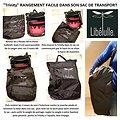 SAC DE TRANSPORT / Housse de voyage toutes TRINITY version 1/ 2 et 3