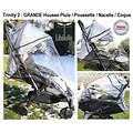 """Pack Trio Trinity 2 """"ROUES GOMME"""" Poussette roues gomme + Cosy auto + Nacelle"""