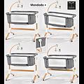 MONDODO+ Berceau Lit Cododo 0/9kg col GRIS Clair/LIGHT GREY