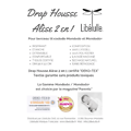 Drap Housse Alèse 2 en 1 berceau Mondodo / Mondodo+