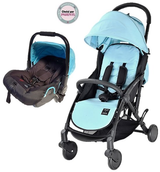 Pack Duo COSY Trinity 2 Poussette + Cosy auto