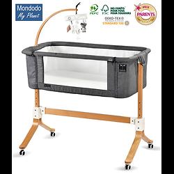 MONDODO Berceau Lit Cododo 0/9kg col GRIS FONCE/DARK GREY
