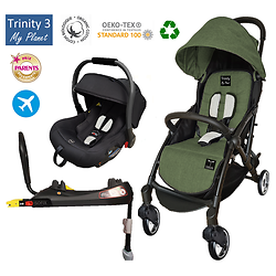 "Pack Duo Cosy Isofix Trinity 3 GOMME ""My Planet"""