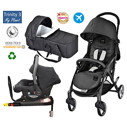 "Pack Trio Isofix Trinity 3 GOMME ""My Planet"""