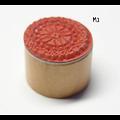 Tampon rond dentelle 3cm