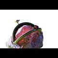 Porte-monnaie rétro Fleurettes