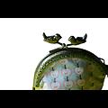 Porte-monnaie rétro Pommes-Pommes (petit format)