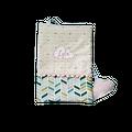 Protège-carnet de santé personnalisé en coton avec Marque-Pages