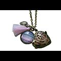"""Bola de grossesse """"Rock-coeur"""" en métal bronze"""