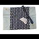 Protège-carnet de santé personnalisé flex en coton avec marque-pages