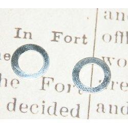 2 anneaux connecteurs en métal argenté 11mm