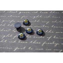 Appliques rondes à coller pour personnaliser vos bijoux, vêtements...