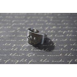 Support de bague argenté avec 3 anneaux pour personnaliser 13x20mm