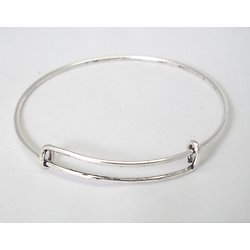 Support de bracelet en métal réglable 65mm