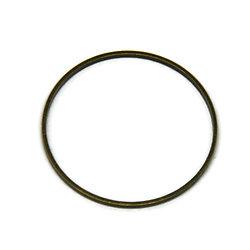 Grand anneau connecteur en métal couleur bronze 45x2mm