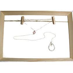 Bijou de dos en argent 925 et cristal rose - bijou de cérémonie / bijou de mariage