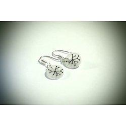 """Boucles d'oreille mini """"Atomes"""", boucles d'oreille minimalistes et naïves"""