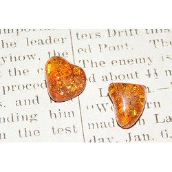 Perle d'ambre synthétique 13x11mm ou 18x15mm