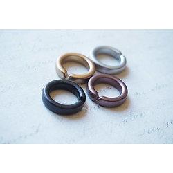 3 anneaux rigides en acrylique 17mm