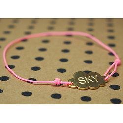 """Bracelet lien et Petit nuage """"Sky"""""""