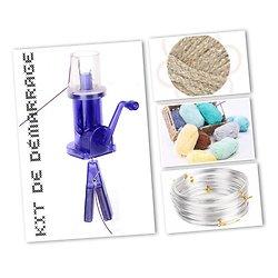 Machine à tricotin automatique avec ou sans kit de démarrage