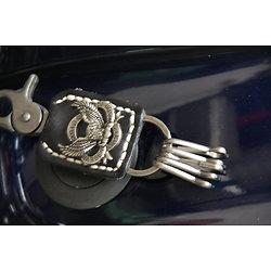 Porte-clef cuir Harley Dav. - modèle aigle