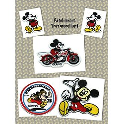 Patch brodé thermocollant Mickey