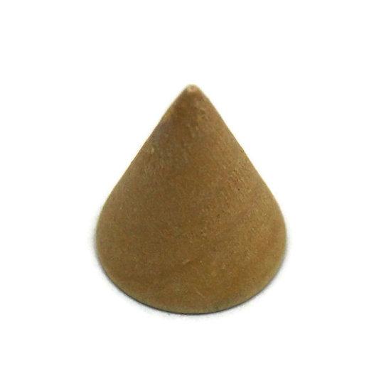 Support conique en bois pour bague - 2 modèles