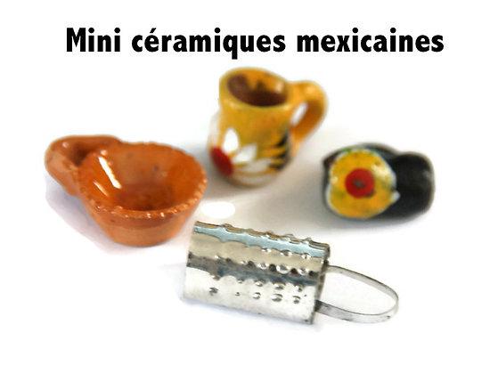 Miniatures mexicaines en céramique - Authentiques et artisanales!
