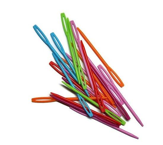 Aiguilles en plastique - lot de 10 unités