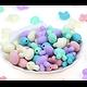 Perle tête de lapin en silicone alimentaire sans BPA