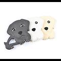 Perle / Anneau de dentition labrador en silicone alimentaire sans BPA