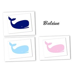 Flex thermocollant baleine - 3 couleurs