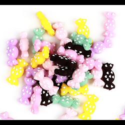 Perle bonbon en silicone alimentaire sans BPA 31x15x9mm