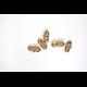 5 fermoirs mousquetons longs en métal couleur bronze 11x6mm
