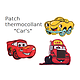 "Patch brodé thermocollant ""Cars"""