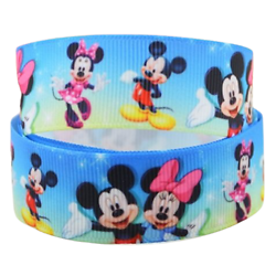 Ruban gros-grain Disney 22mm - Mickey / Minnie (3)