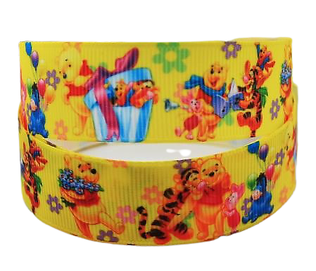 Ruban gros-grain Disney 22mm - Winnie (4)