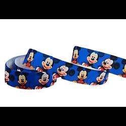 Ruban gros-grain Disney 22mm - Mickey (3)