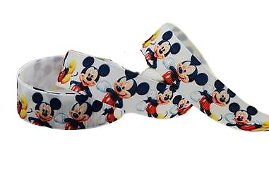 Ruban gros-grain Disney 22mm - Mickey (6)