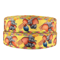 Ruban gros-grain Disney 25mm - Dumbo
